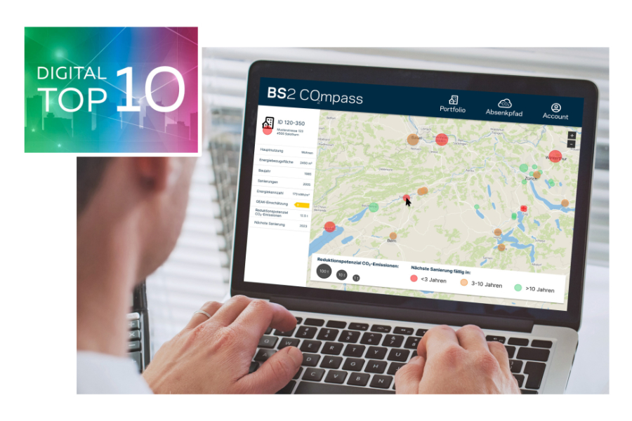Der BS2 CO₂m­pass ist in den Digital Top 10